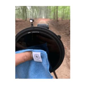 Nano plus doek gebruiken voor lens